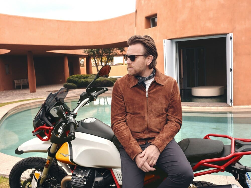 Ewan McGregor is Ambassador for the Moto Guzzi V85TT