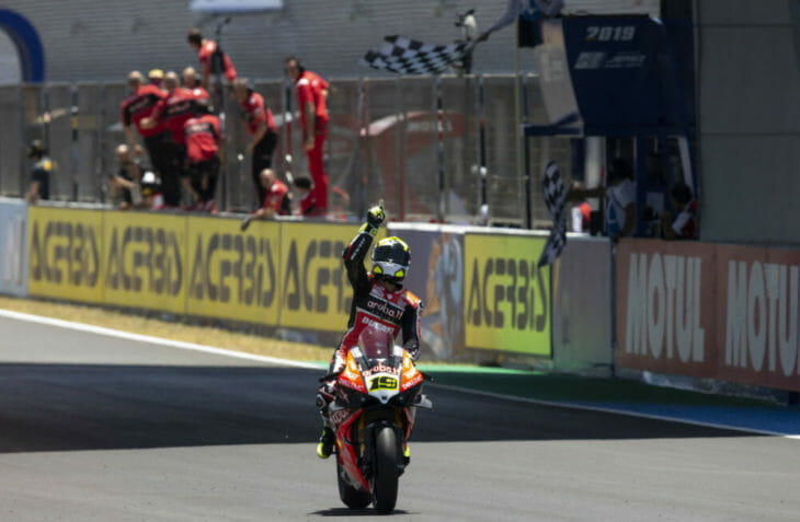 2019 Spain World Superbike Results Bautista wins race one