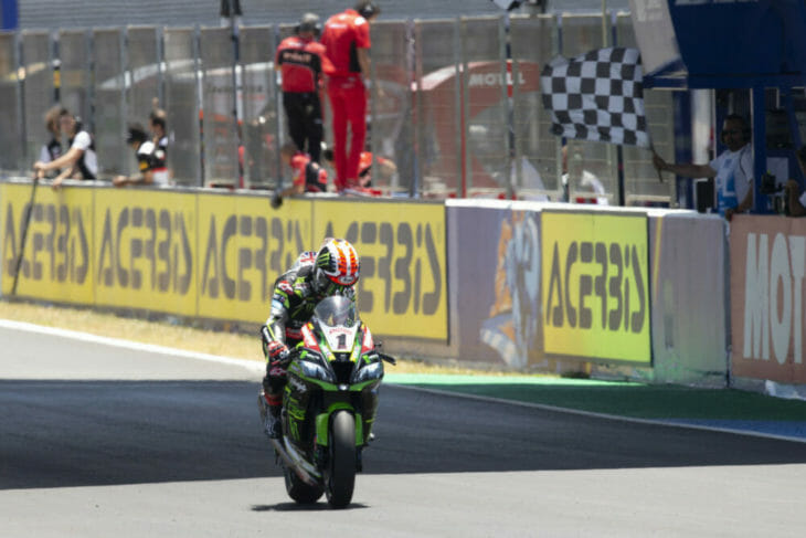 2019 Spain World Superbike Results Rea third in race one