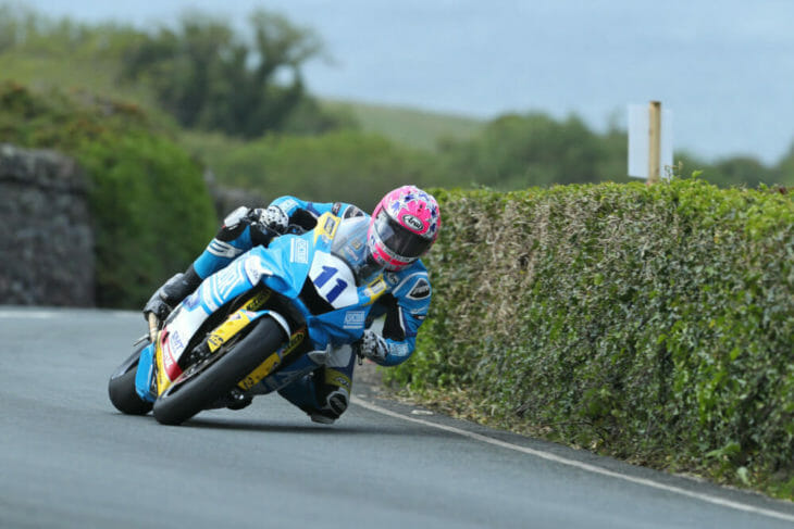 2019 Isle of Man Results Supersport 1 Lee Johnston wins