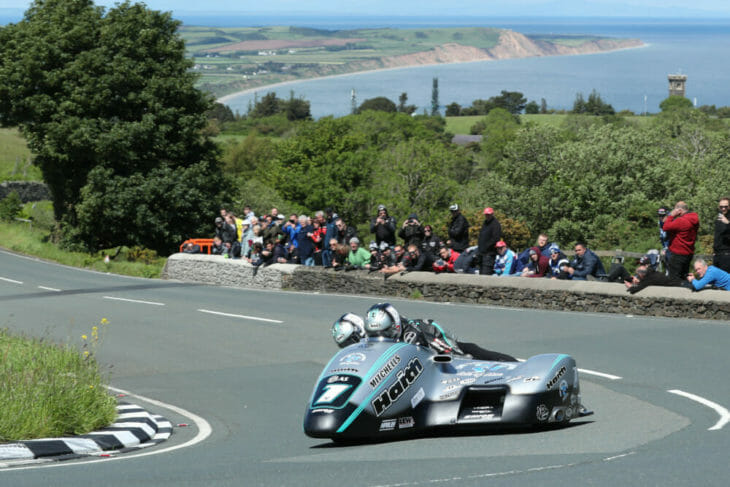 2019 isle of man tt results birchall sidecar race two