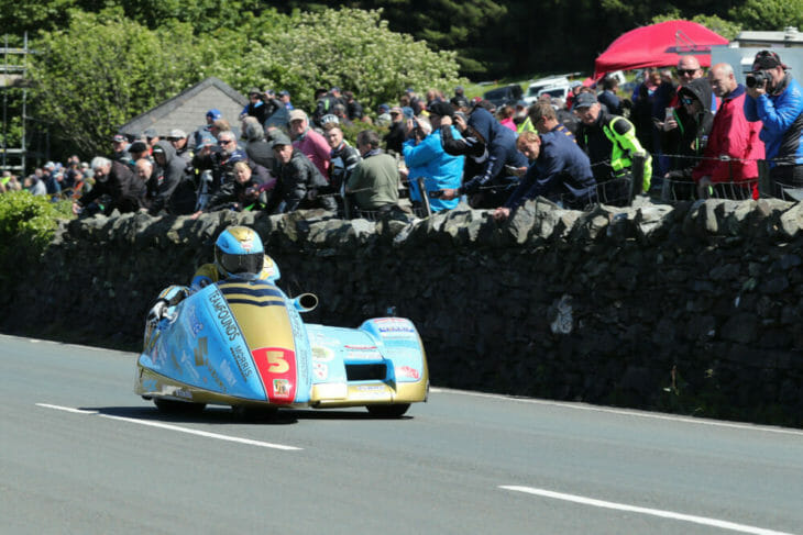 2019 isle of man tt results sidecar race two fond and warmsly