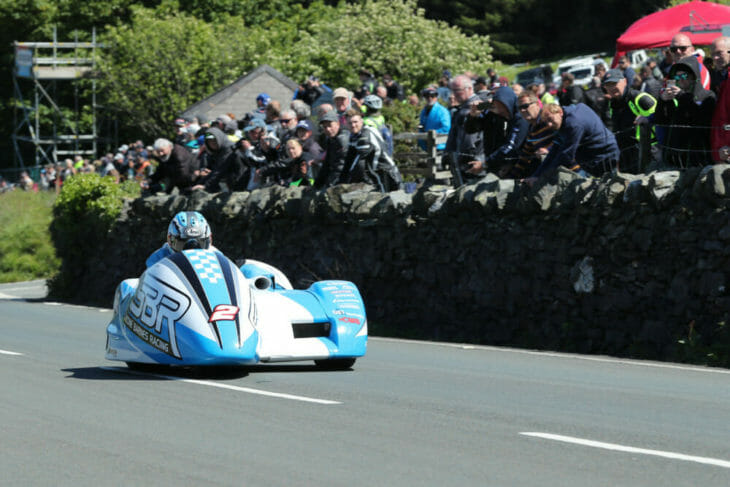 2019 isle of man tt results sidecar race two holden and cain