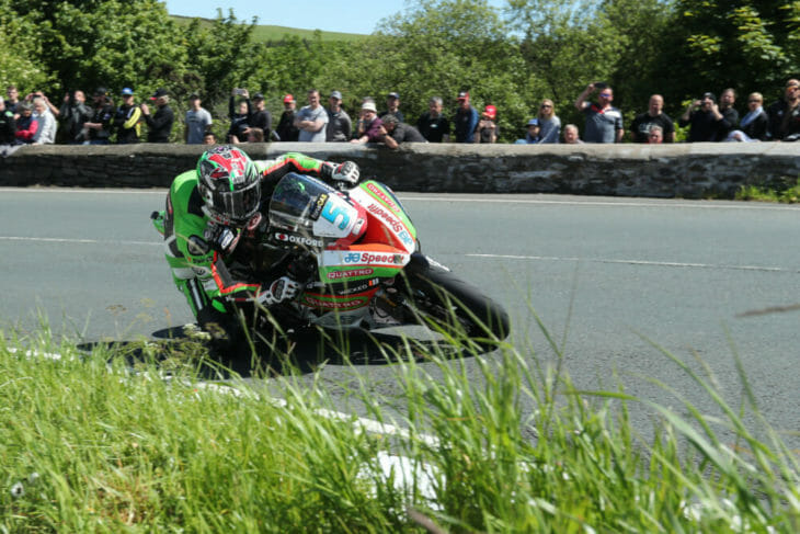 2019 isle of man tt results hillier third supersport race two