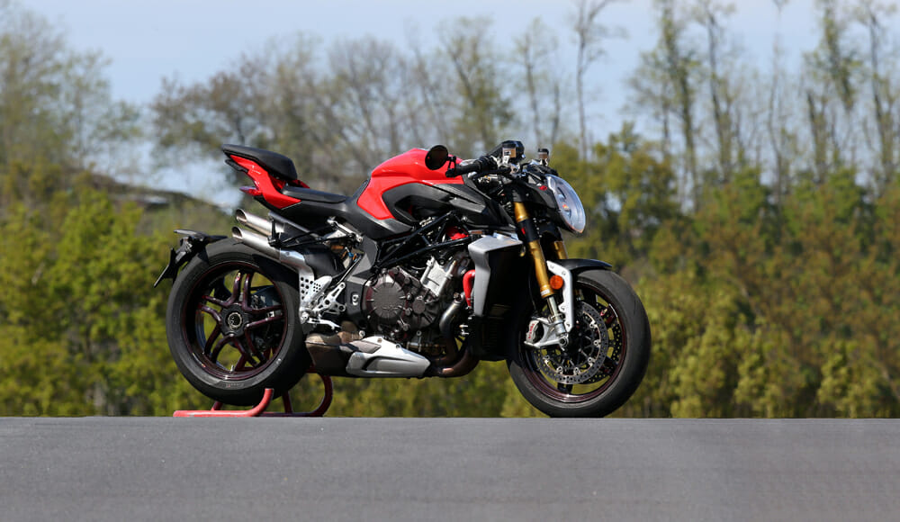 This 2020 MV Agusta Brutale 1000 Prototype uses every ounce of experience MV Agusta learned in WorldSBK. It's an absolute beast.