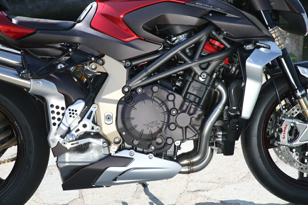 The 2020 MV Agusta Brutale 1000 Prototype has 208 hp on tap.