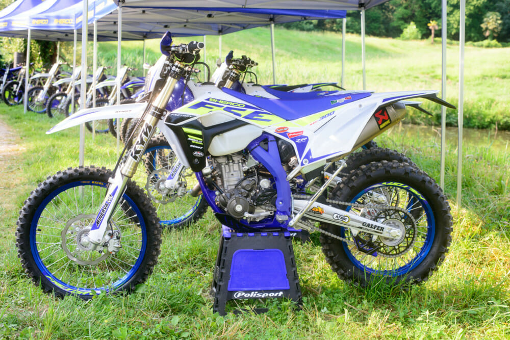 The Sherco SE300F is an outstanding all-around off-road bike that will appeal to a wide range of riders.The Sherco SE300F is an outstanding all-around off-road bike that will appeal to a wide range of riders.