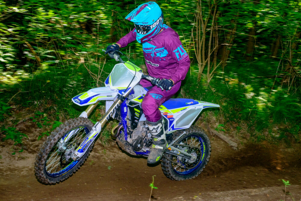 The 2020 SEF450R isn't the beast is used to be. Photo: Ron Lawson
