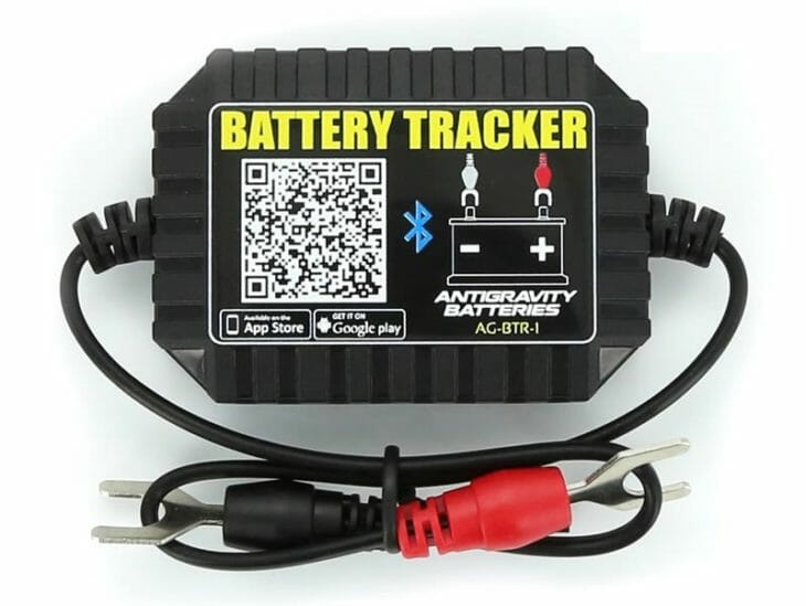 Antigravity Batteries Bluetooth Battery Tracker