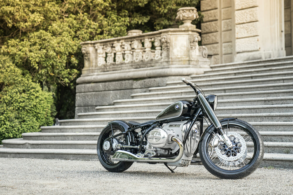 When you have a history (and the manufacturing capabilities of) BMW, when they do a custom bike, it's nothing short of spectacular.
