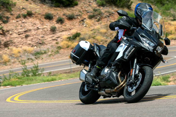 2019 Kawasaki Versys 1000 SE LT+ Review | The venerable Kawasaki Versys 1000 has come in for a substantial facelift in 2019.