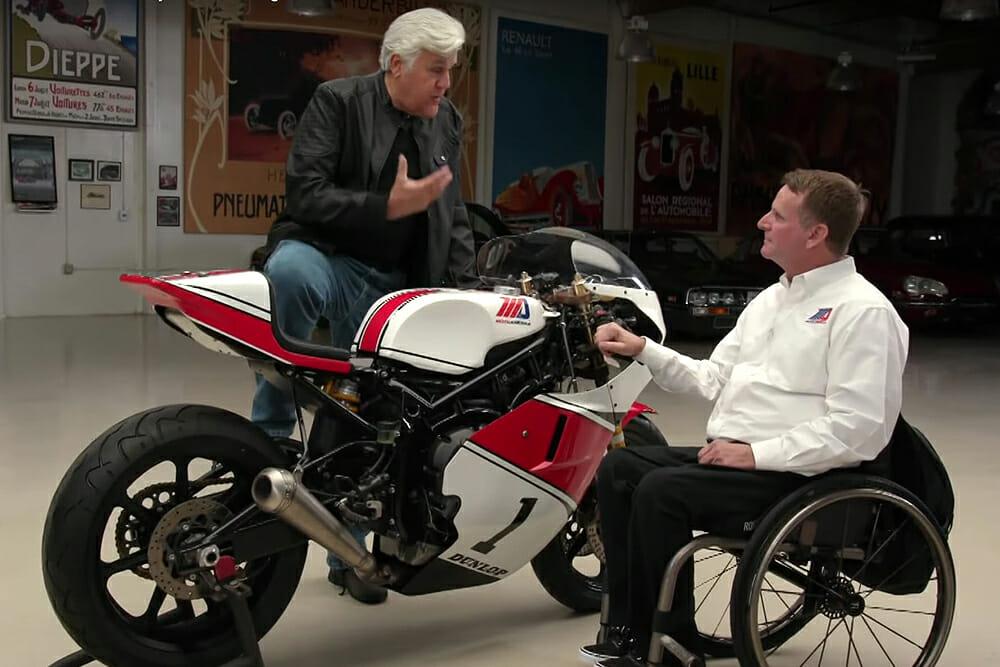 MotoAmerica Featured On Jay Leno's Garage