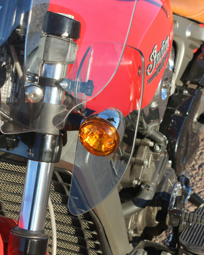 Klock Werks adds Flare Air Management Kit for Indian Scout to Arsenal of Flare Windshields