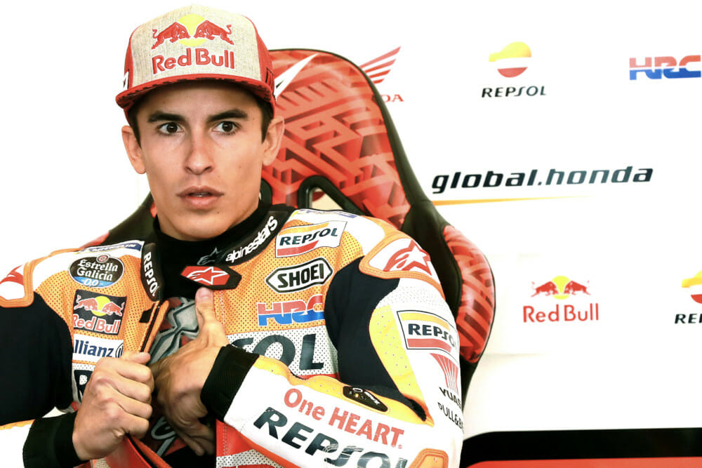 Marc Marquez In the Paddock Column