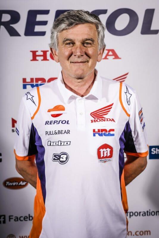 Repsol Honda TrialsGP Miquel Cirera Team Manager Miquel Cirera