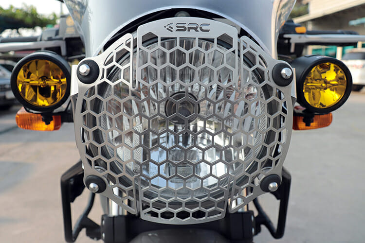 Headlight Guard for 2017 to 2019 Royal Enfield Himalayan