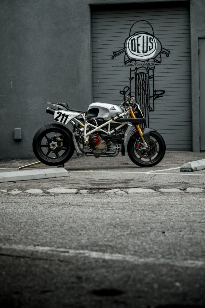 "Woolies' new Deus Ex Machina build ""Beastie"""