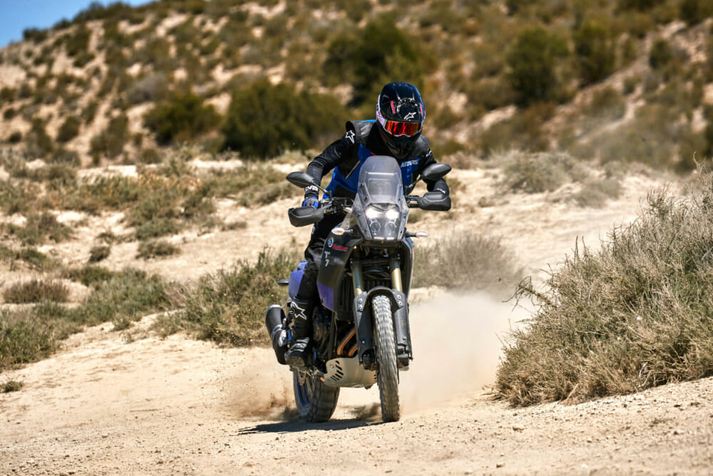 Mid-size ADV bikes like the Yamaha Tenere 700 means have the fun of the adventure is just getting there.