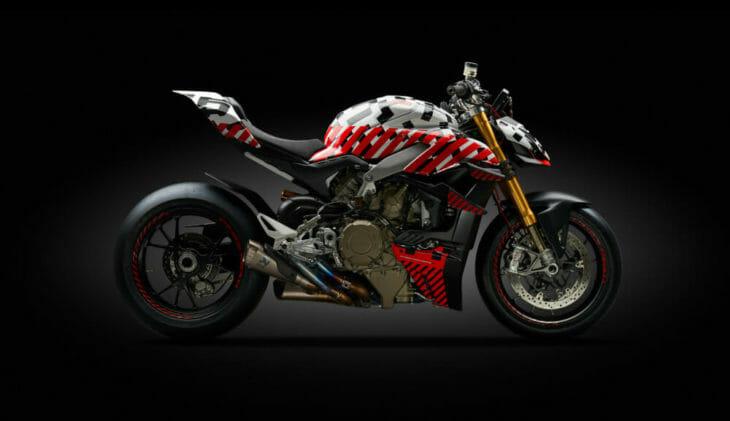 Carlin Dunne Ducati Streetfighter V4