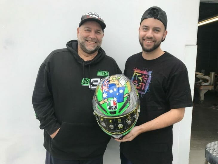 Tag and Bronson Tagger Designs Custom Helmets
