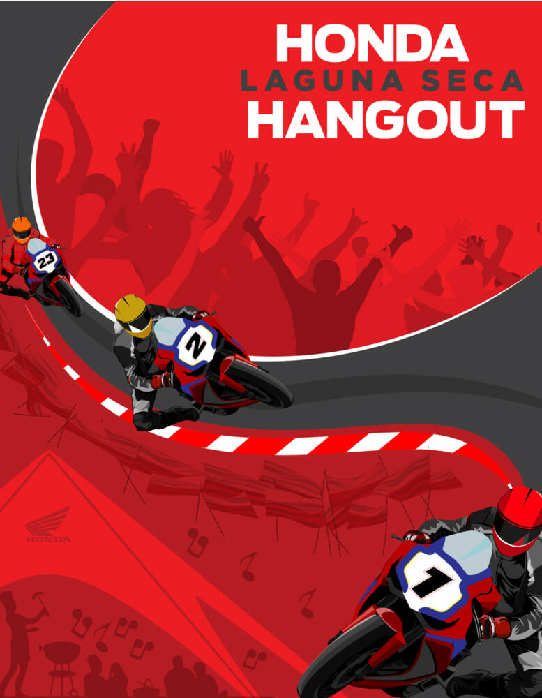 """Honda Hangout"" Planned for Laguna Seca SBK Weekend"