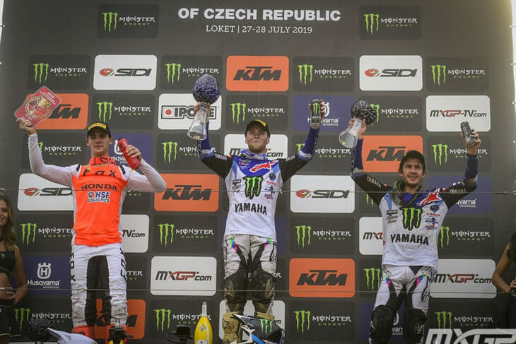2019 MXGP Of The Czech Republic Results