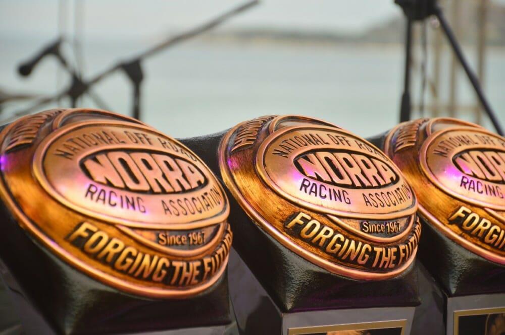 2019 NORRA 500 trophy