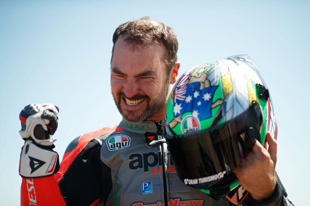 That's four years of work realized with Australia's first Pikes Peak Heavyweight category win.