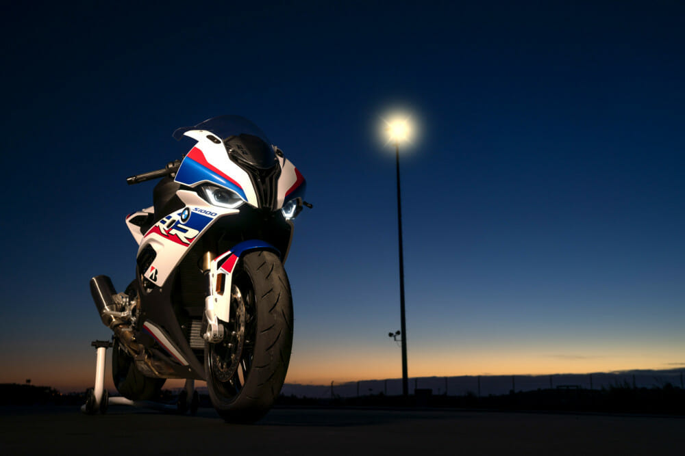 2020 BMW S 1000 RR track review at Barber racetrack