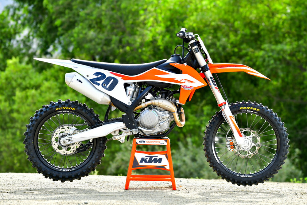 Decal Works and the 2020 KTM 450 SX-F