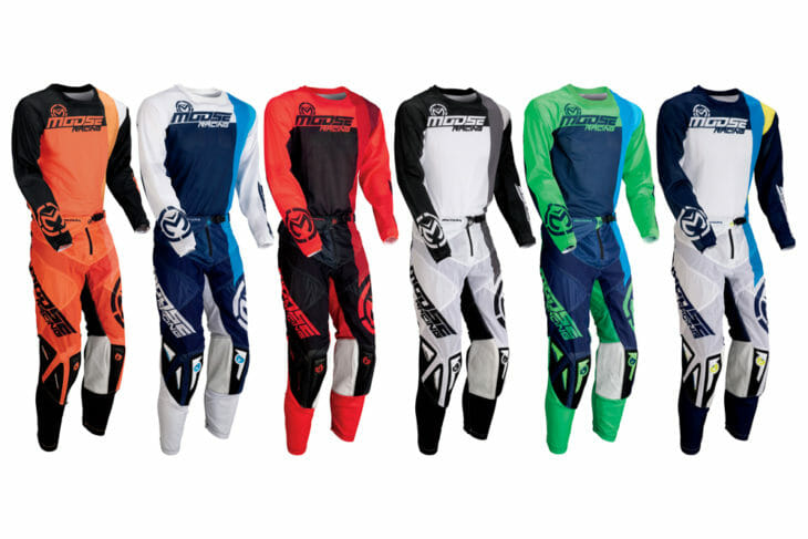 Moose Racing has released its 2020 gear collections—the Sahara, M1, Qualifier, and Qualifier Youth—in new colorways