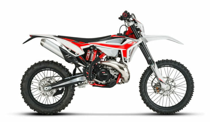 2020 BEta RR 250 Right Side.