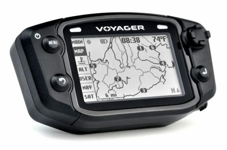 Voyager GPS unit from 2020 Beta RR-S line