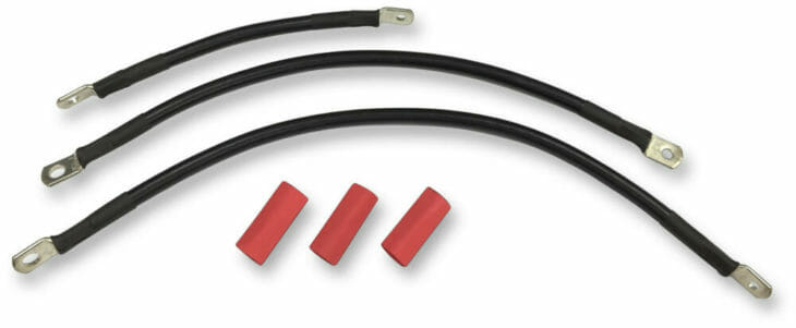 Drag Specialties Battery Cable Kits