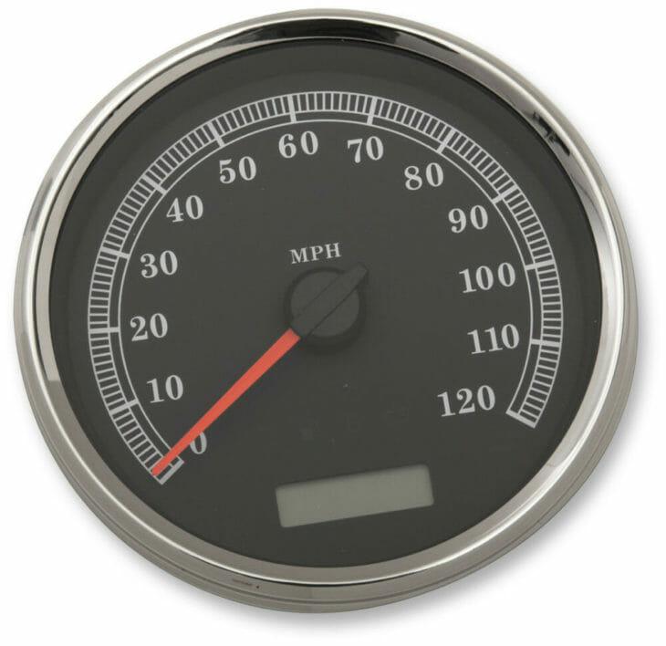 Drag Specialties Programmable Electric Speedometers