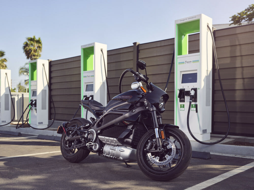 Electrify America to Provide Two Years of Free Charging for H-D LiveWire