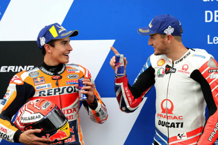 Is a tide of youth coming up behind Marc Marquez? Photo: Gold & Goose