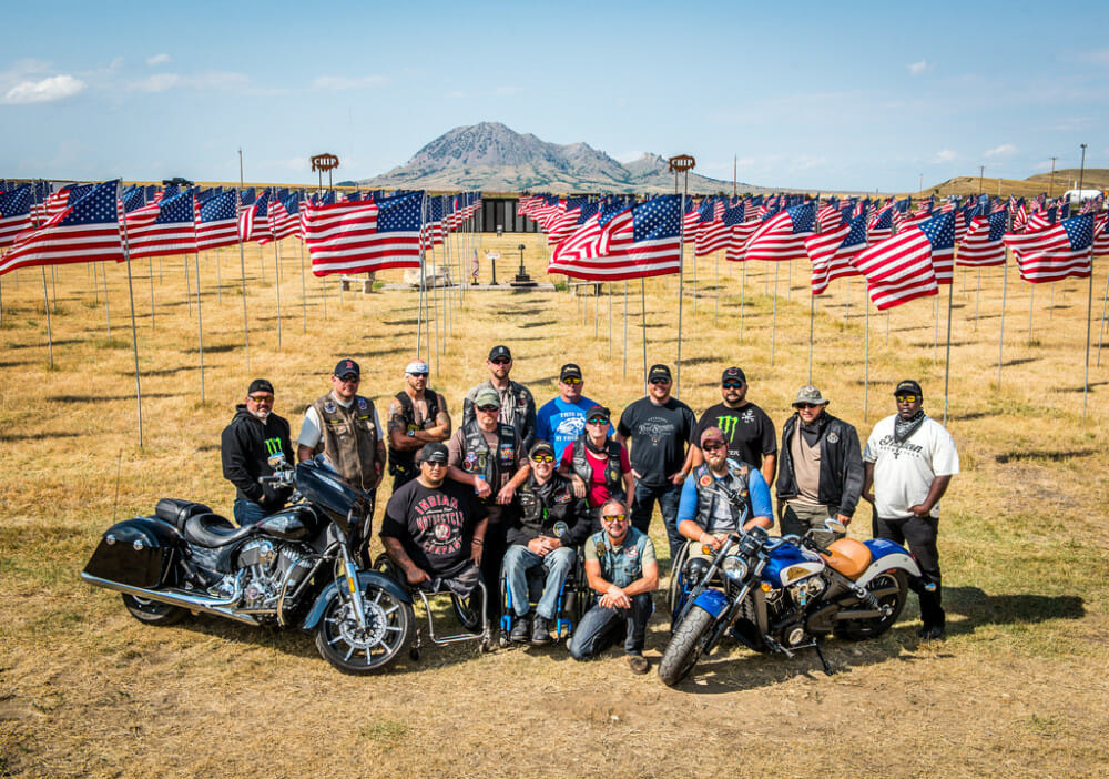 Indian Motorcycle partners with Veterans charity ride for fifth annual Motorcycle Therapy adventure to Sturgis Motorcycle Rally