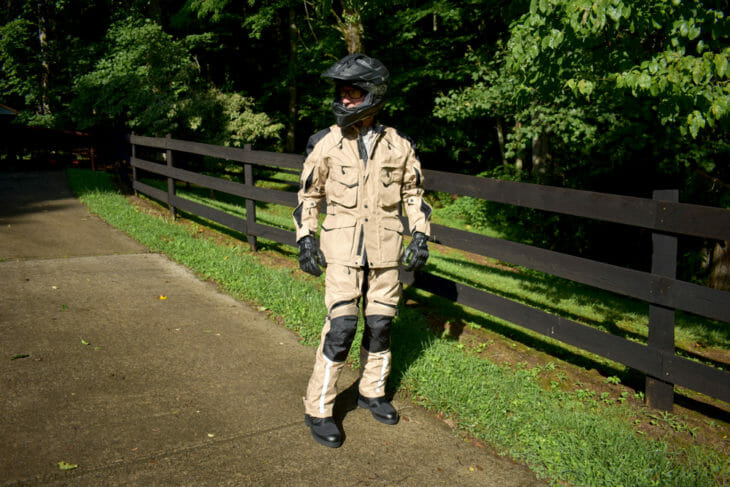Motonation Pursang Tourventure 3/4 Length Textile Jacket & Phantom Pant