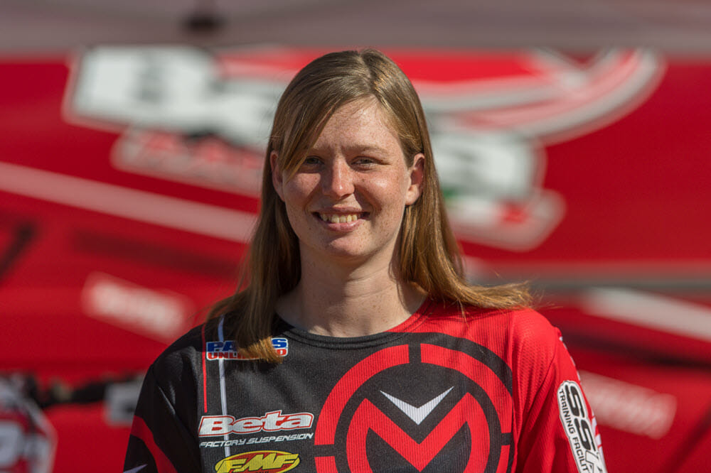 Rachael Gutish has won the TKO women's class a couple of times now and will be facing a large group of female riders in 2019.