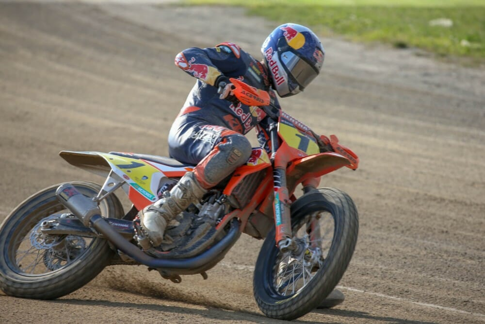 Red Bull KTM Earns its First-Ever 1-2 Podium Finish at Lima Half Mile