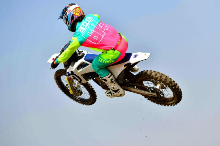 Cycle News reviews the 2020 Husqvarna FC 450 motocrosser