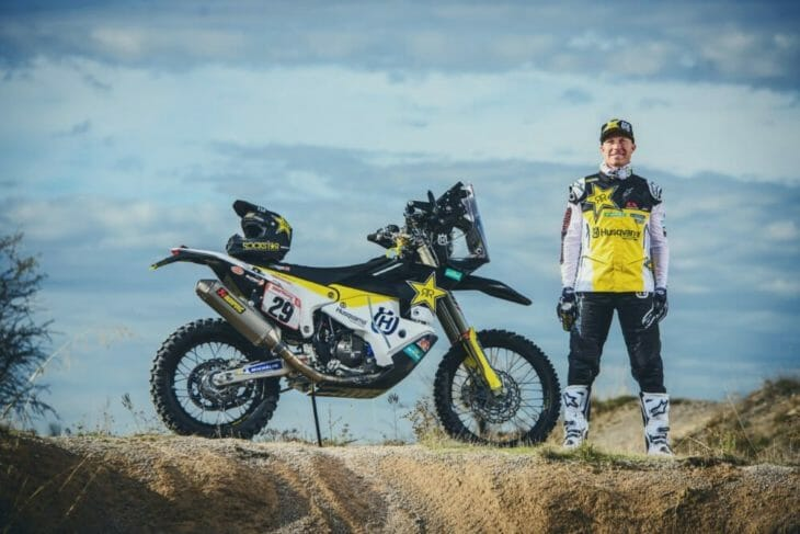 Andrew Short All Set for 2019 Silk Way Rally, round 2 of the FIM Cross-Country Rallies World Championship