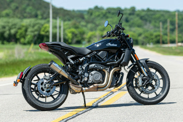 S&S Cycle Grand National Slip-on Mufflers for 2019 Indian® FTR 1200®