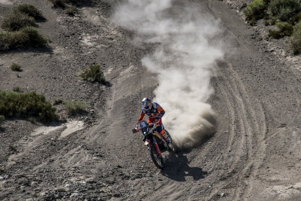 Red Bull KTM Factory Racing's Sam Sunderland has won the Silk Way Rally – round two of the 2019 FIM Cross-Country Rallies World Championship.
