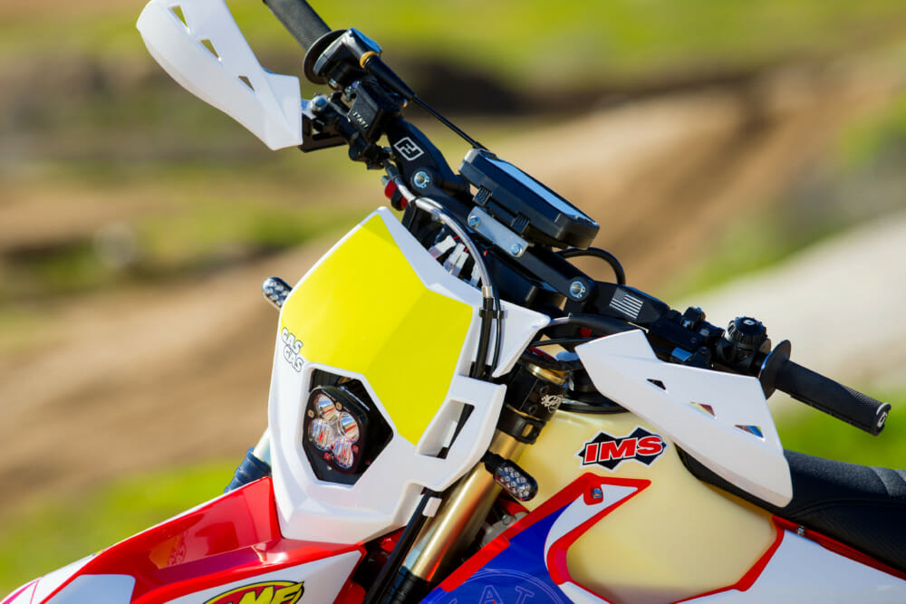 MotoMinded makes some of the best fitting and best performing LED headlight setups in off-road.