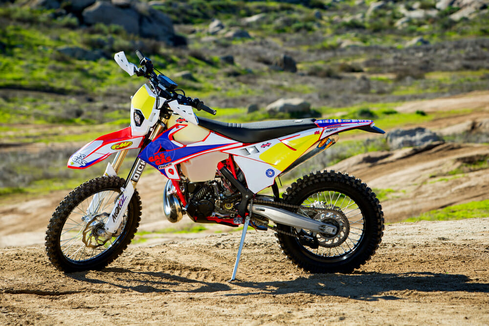 The crew at Seat Concepts knows a thing or two about building comfortable, durable products. So, when they chose a GasGas EC300 to create their own Idaho-worthy trail bike