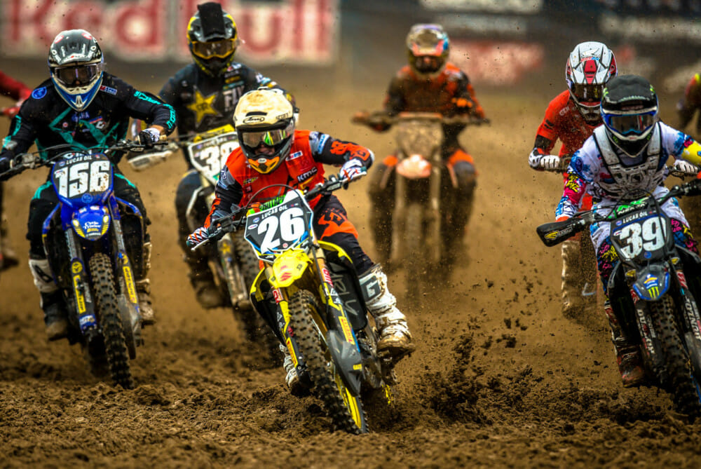 Pirelli riders got off to strong starts with the SCORPION™ MX Soft rear scoop tire. | Photo - Browndogwilson