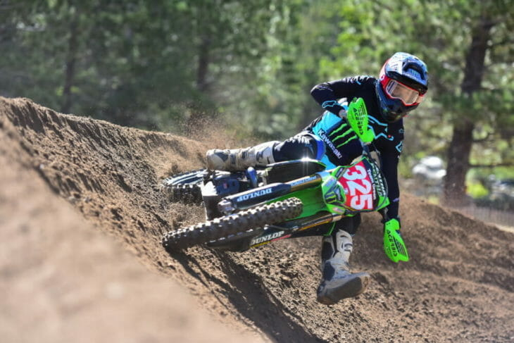 Stilez Robertson was ready to showcase his ability and speed for the first time at Mammoth Mountain on his KX™250