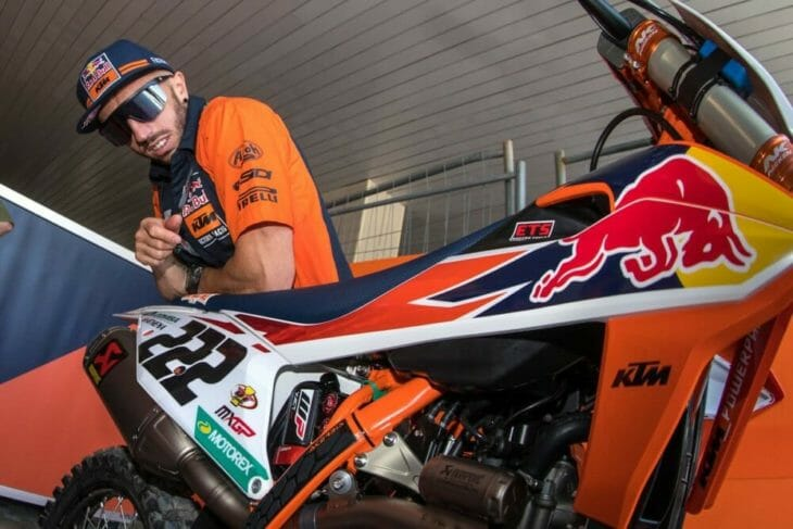 Both Tony Cairoli and Jeffrey Herlings still recovering from their injuries